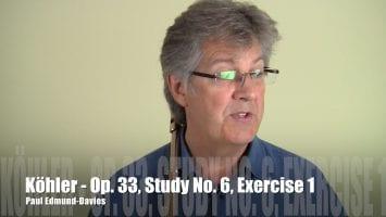Köhler – Study No. 6 | Exercise 1