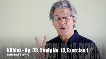 Köhler – Study No. 13   Exercise 1