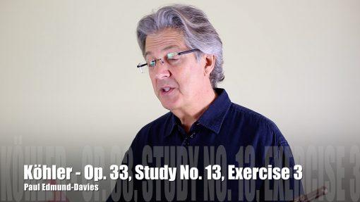 Köhler – Study No. 13 | Exercise 3