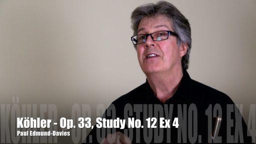 Köhler Study No. 12 | Exercise 4