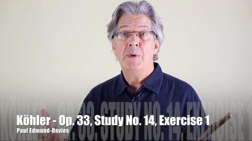 Köhler – Study No. 14 | Exercise 1