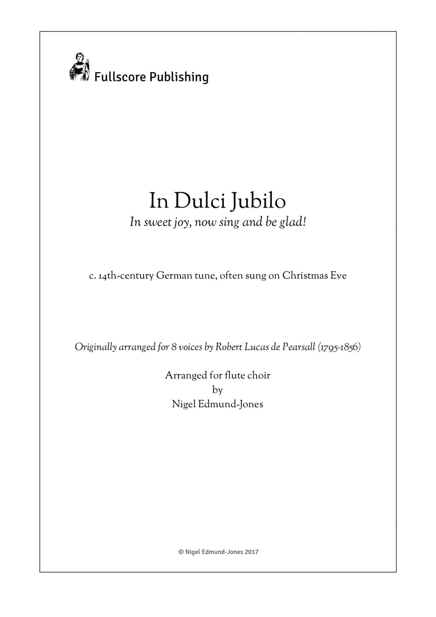 Simply Flute - In Dulci Jubilo - all parts_title sheet_no words copy_Part1