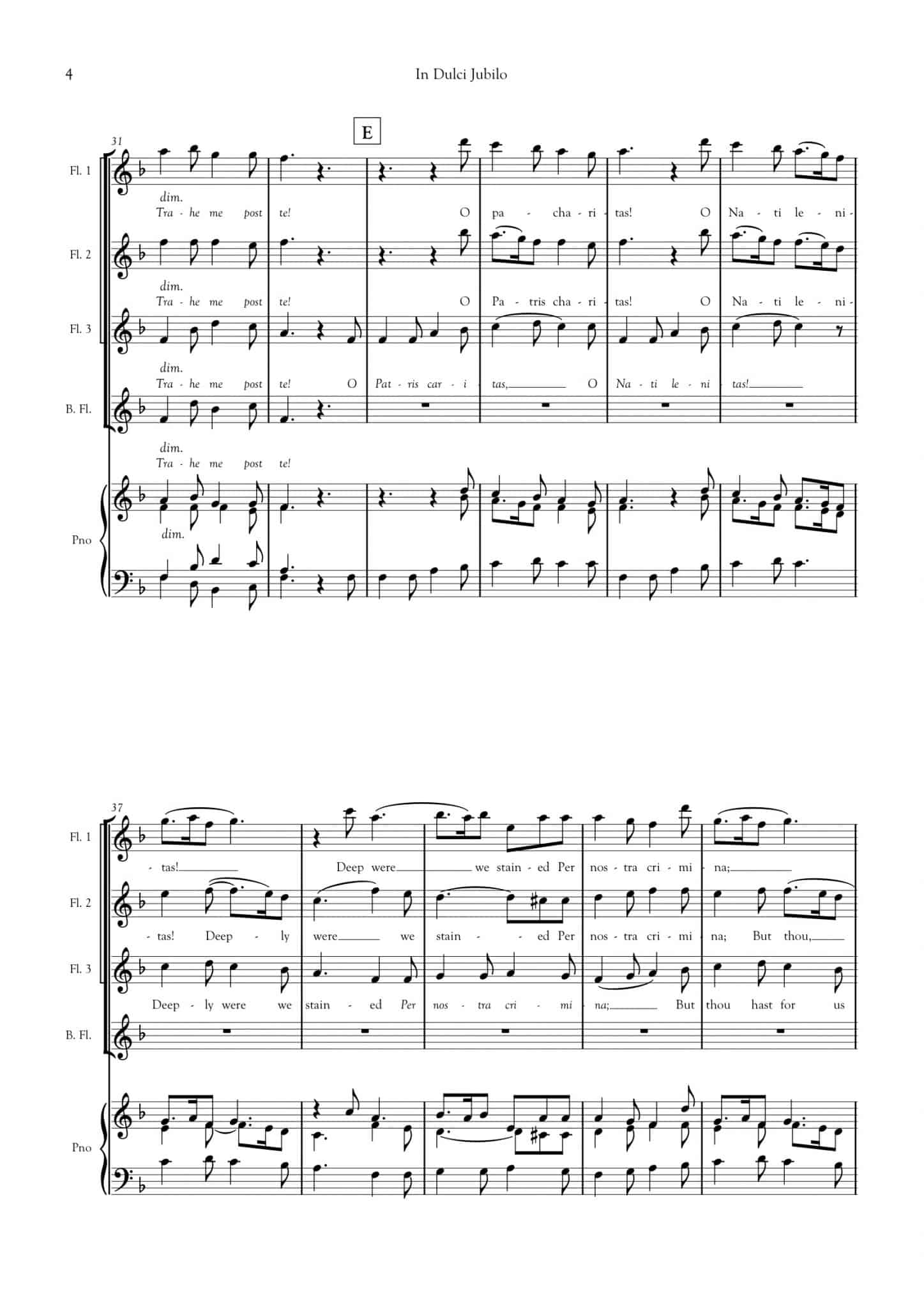 Simply Flute - In Dulci Jubilo - all parts_title sheet_no words copy_Part13