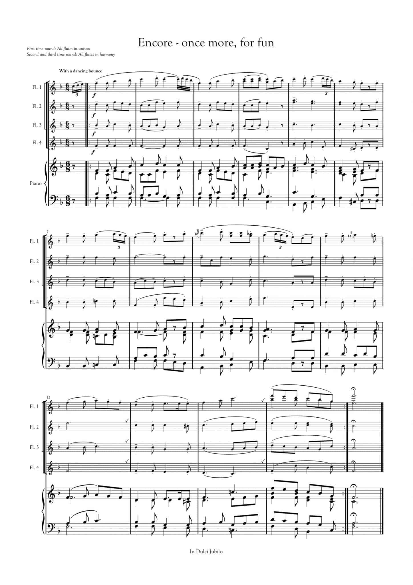 Simply Flute - In Dulci Jubilo - all parts_title sheet_no words copy_Part21