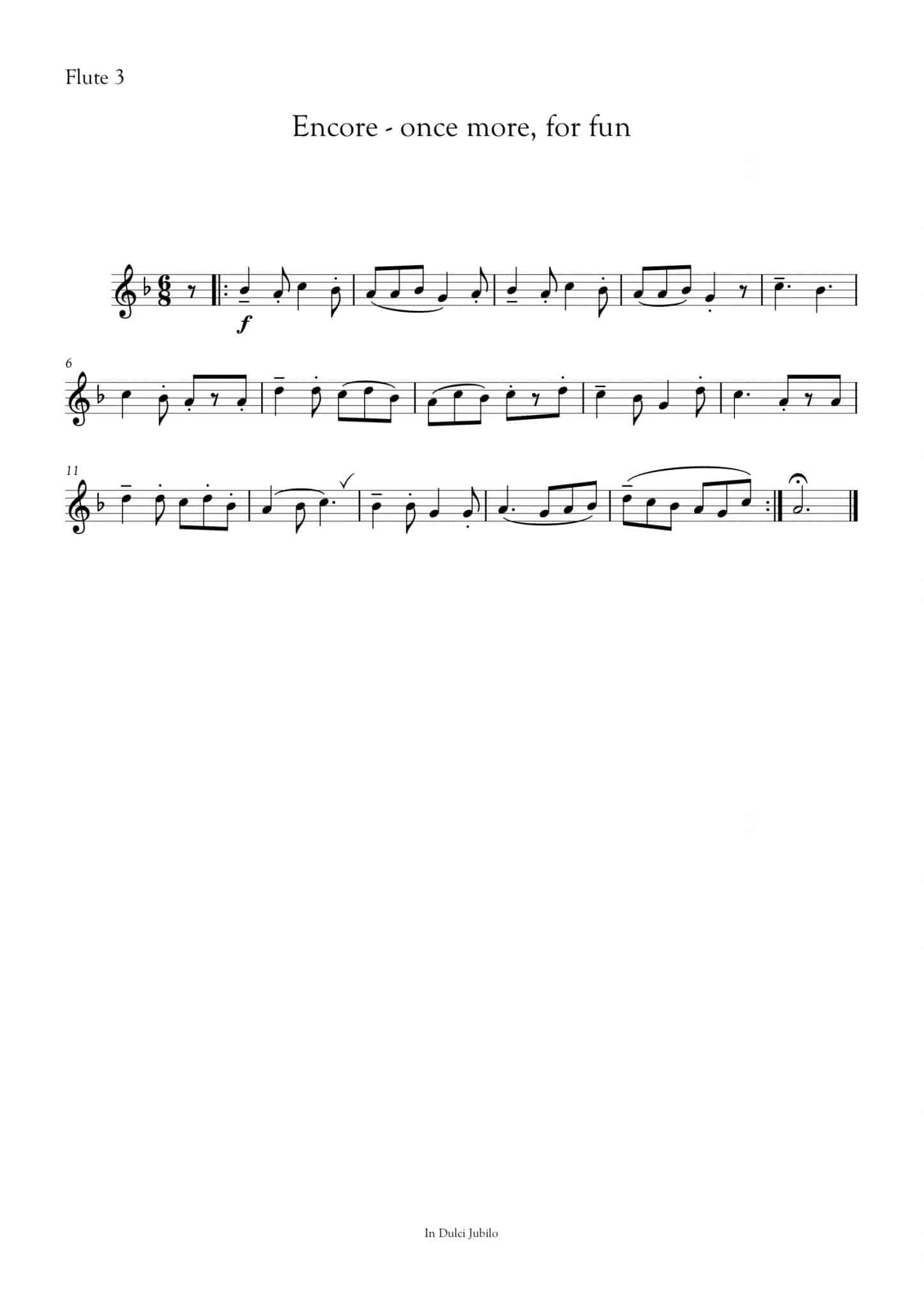 Simply Flute - In Dulci Jubilo - all parts_title sheet_no words copy_Part24