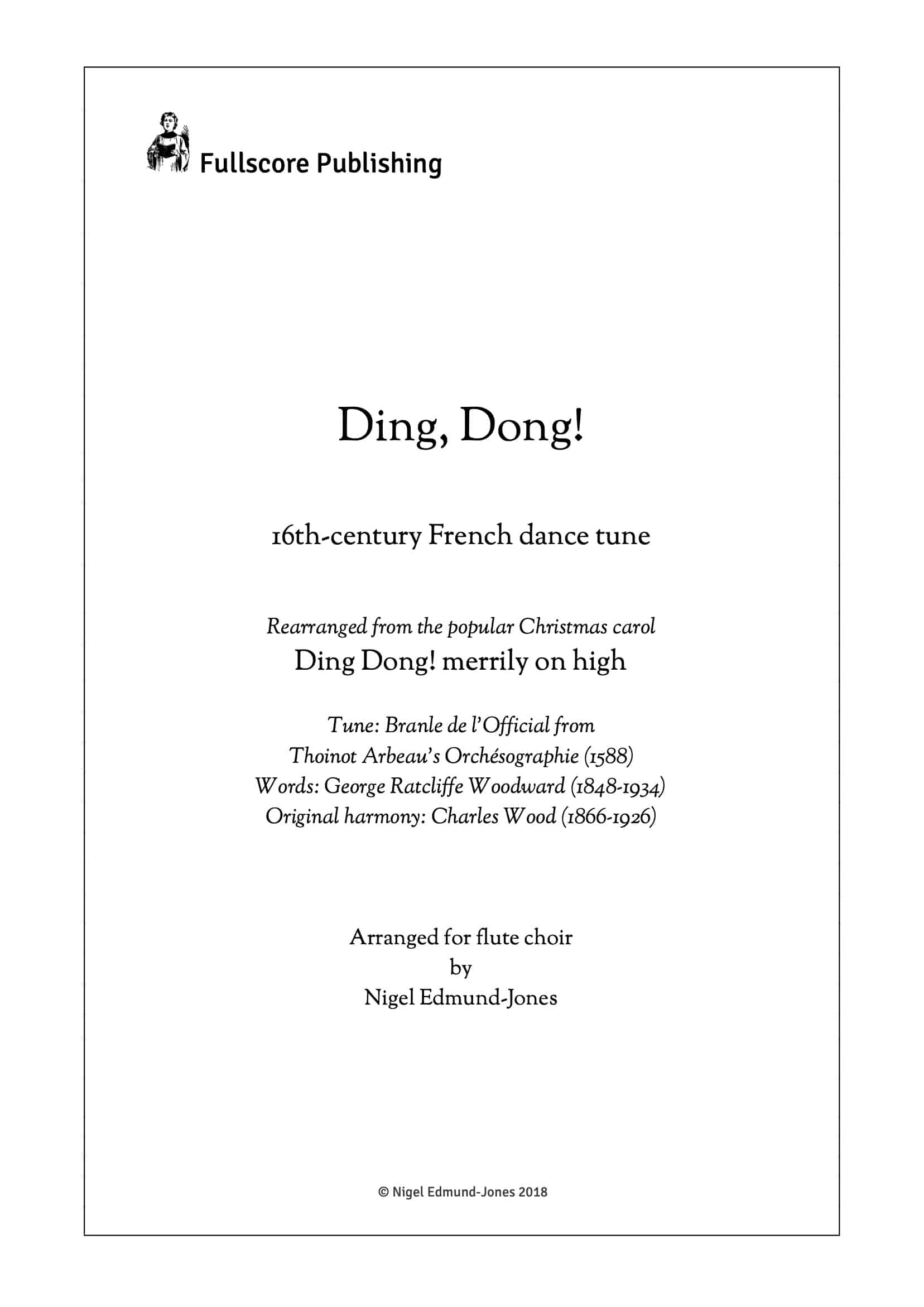 Ding Dong_for flute choir__Simply Flute-01