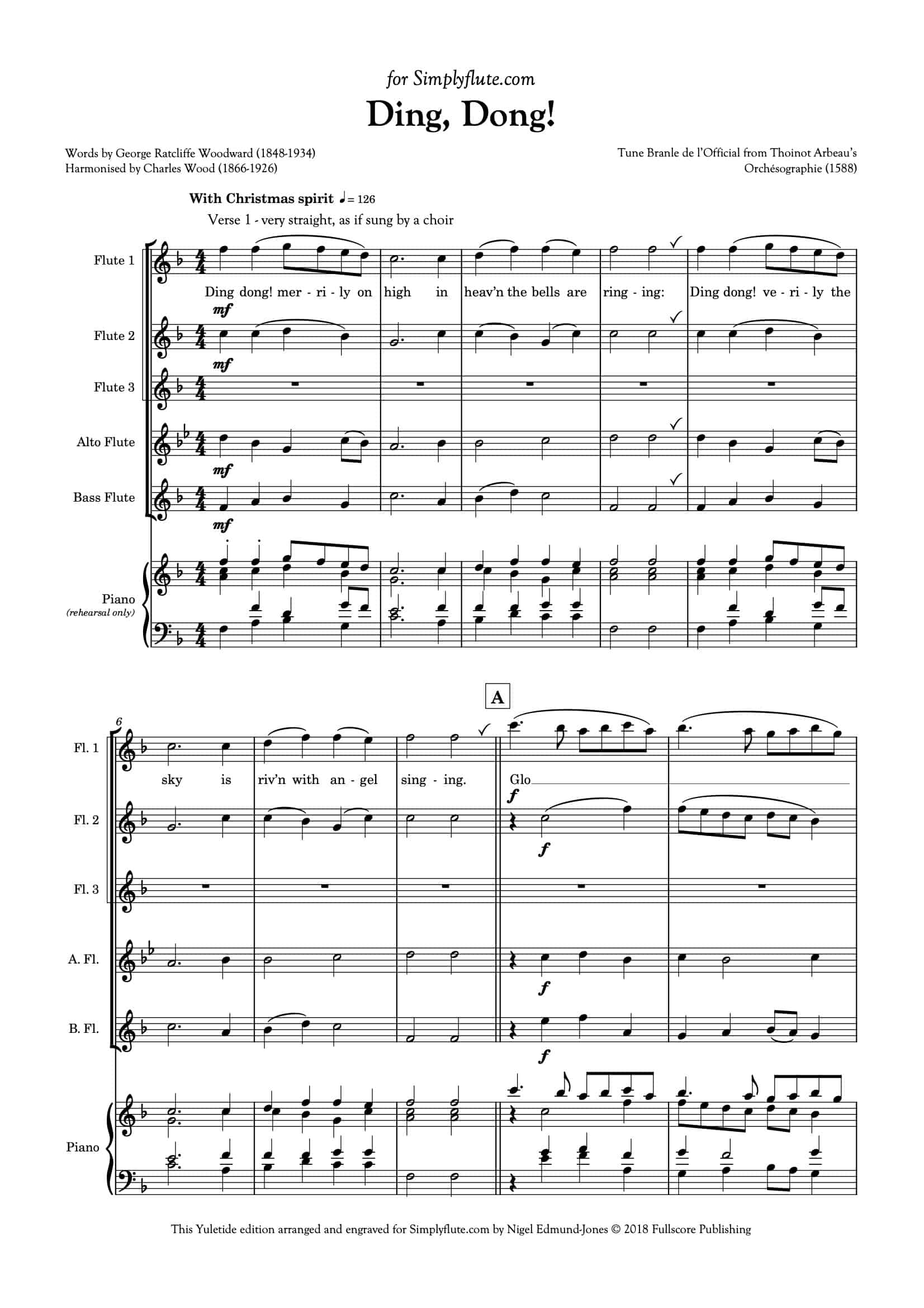 Ding Dong_for flute choir__Simply Flute-02