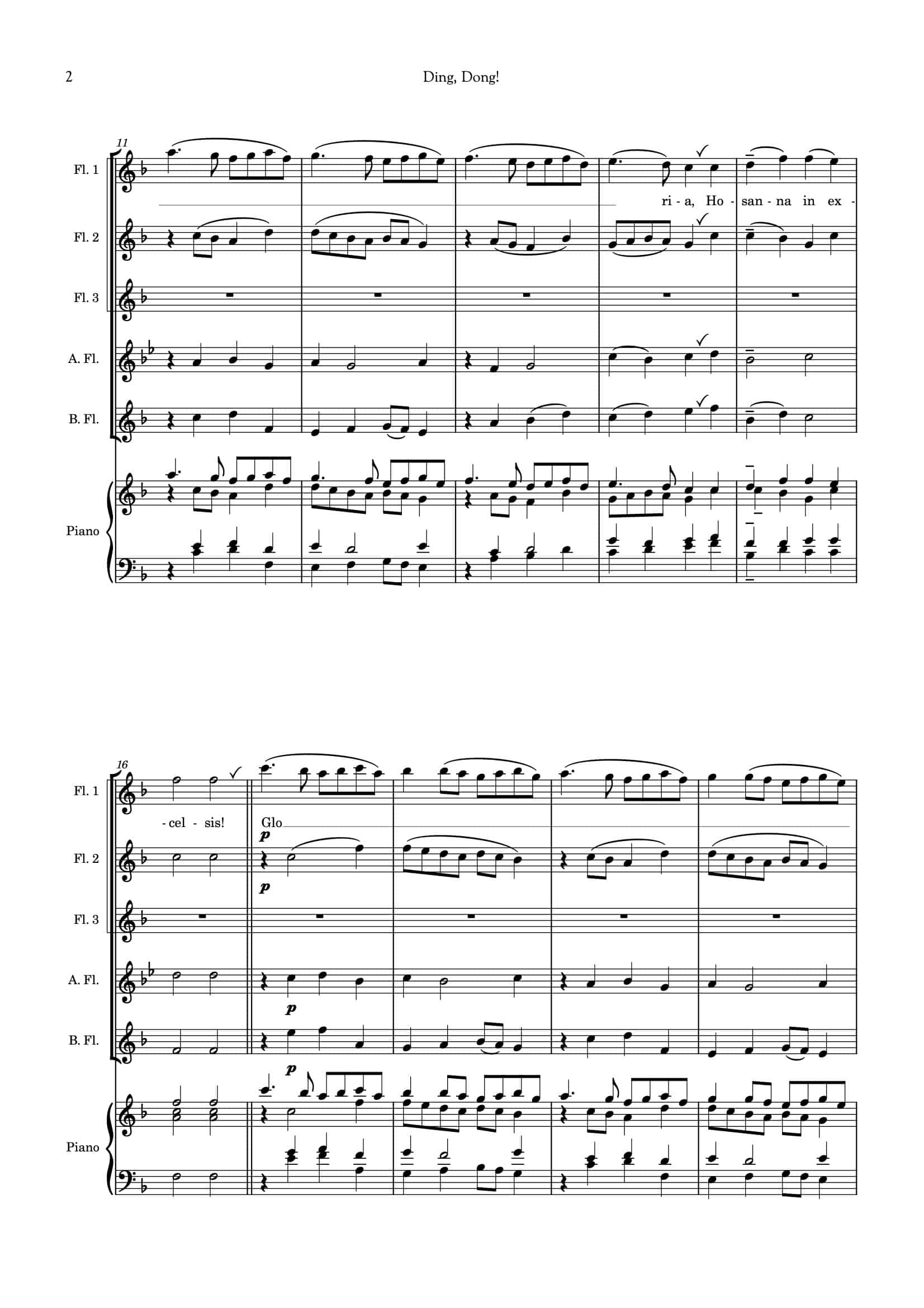 Ding Dong_for flute choir__Simply Flute-03