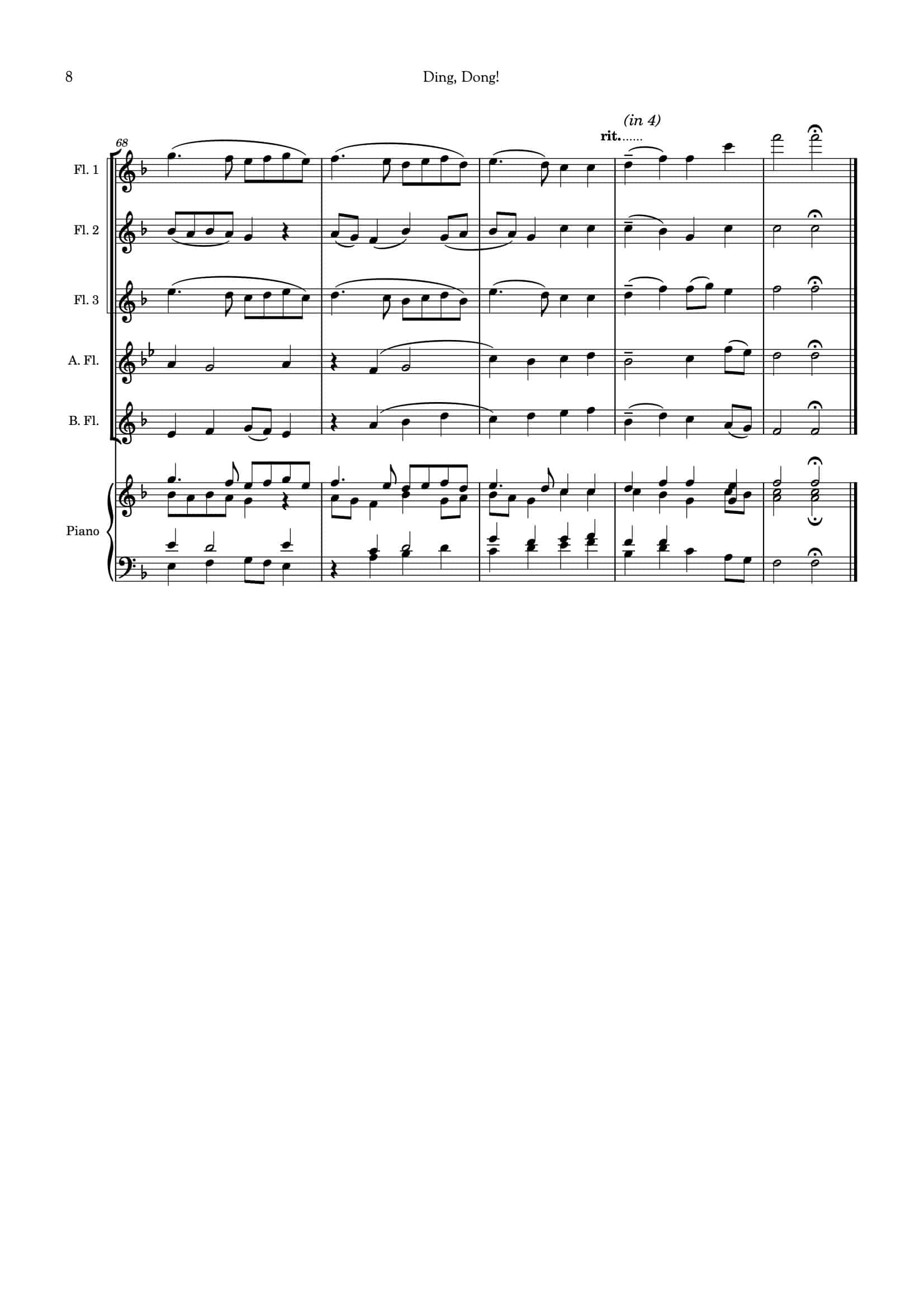 Ding Dong_for flute choir__Simply Flute-09