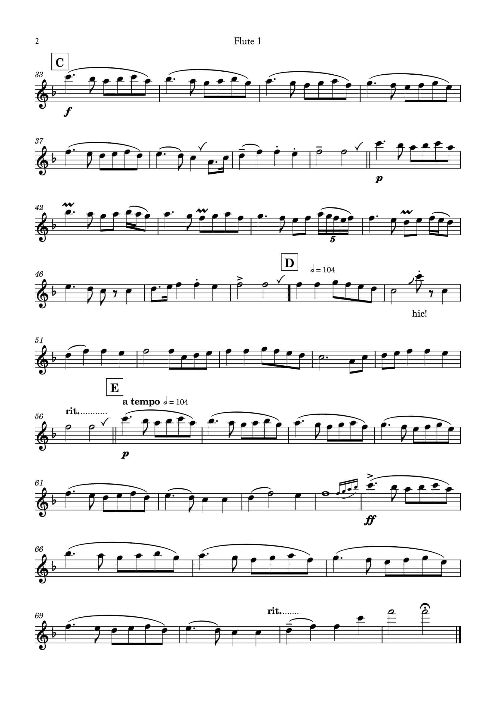 Ding Dong_for flute choir__Simply Flute-11