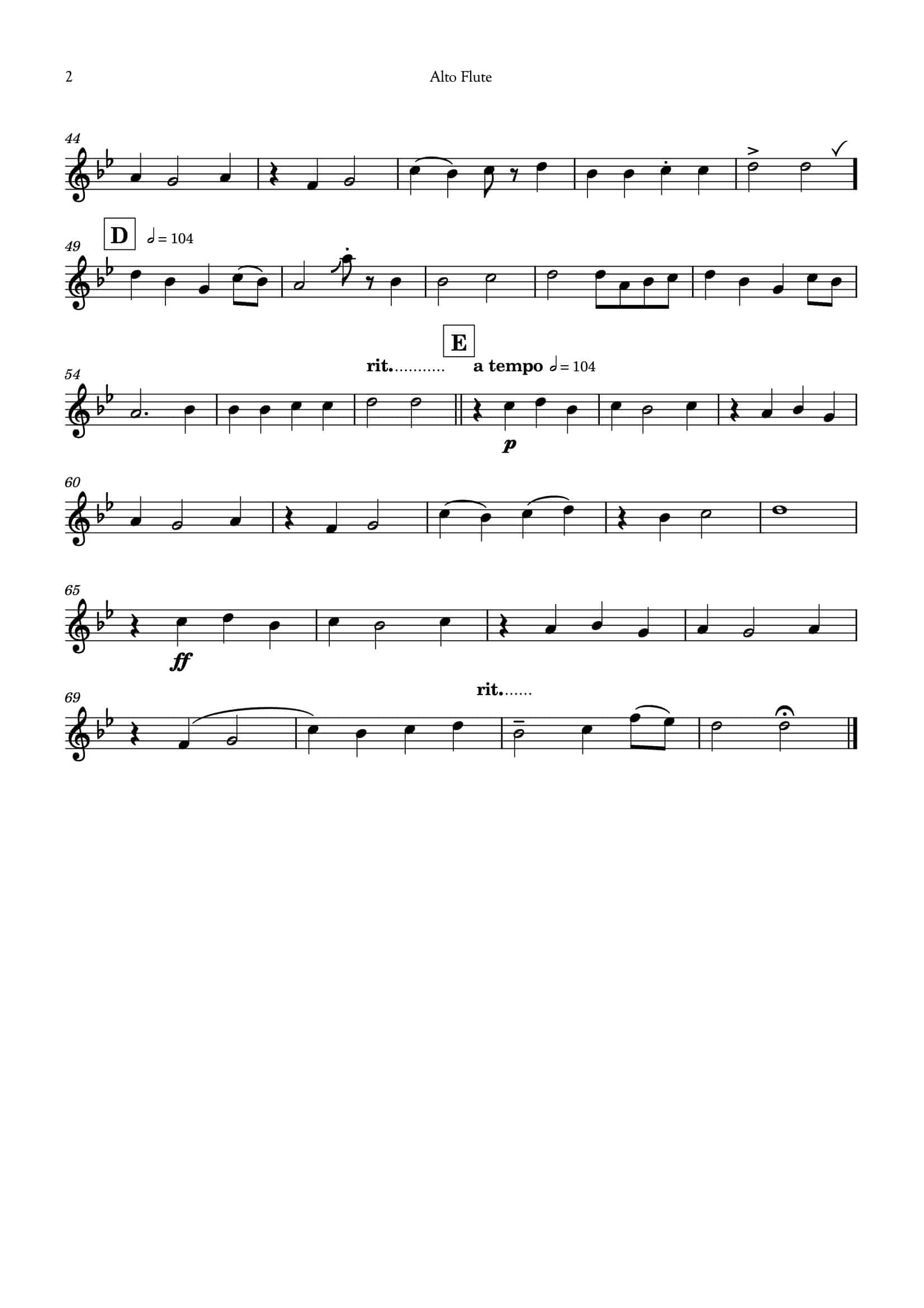 Ding Dong_for flute choir__Simply Flute-16