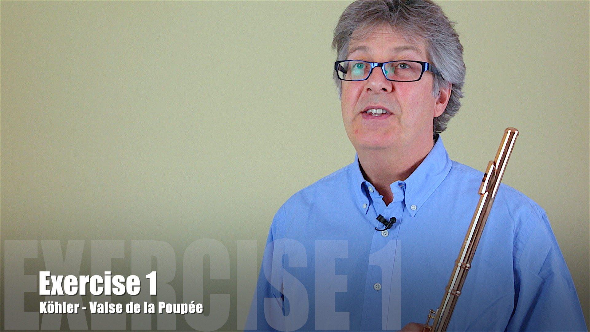 Köhler - Valse de la Poupée - Exercise 1