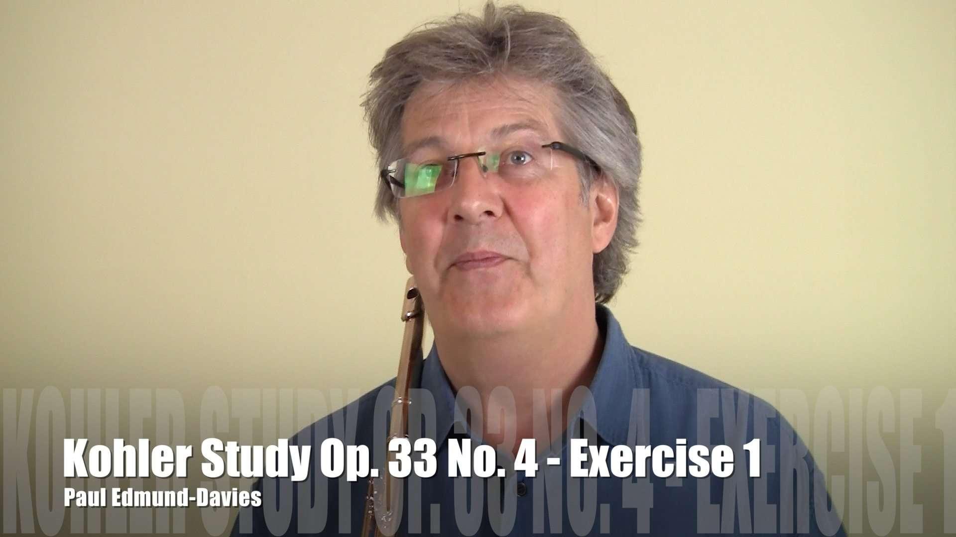 Köhler Study No 4 - Exercise 1