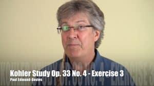 Köhler Study No 4 - Exercise 3
