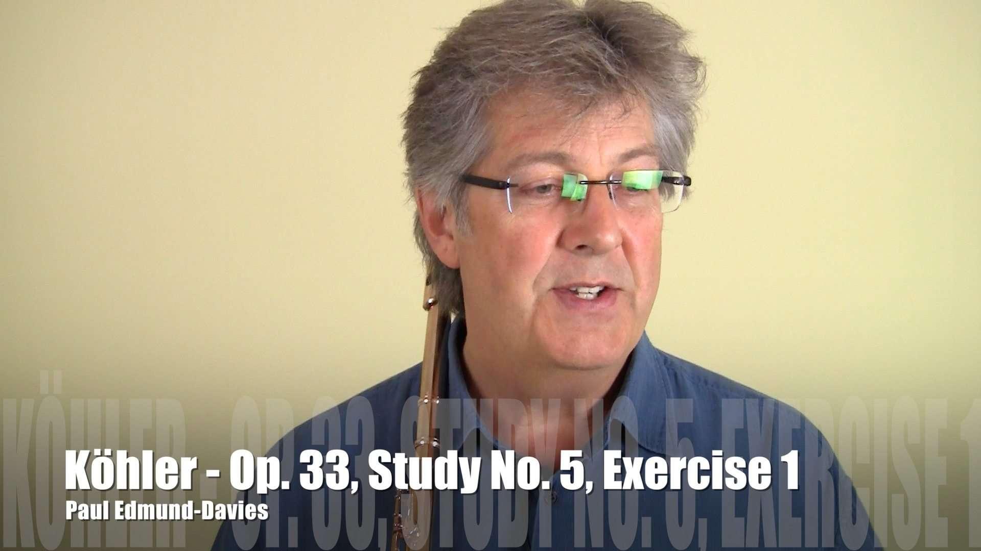 Köhler Study No 5 - Exercise 1