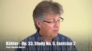 Köhler Study No 5 - Exercise 2