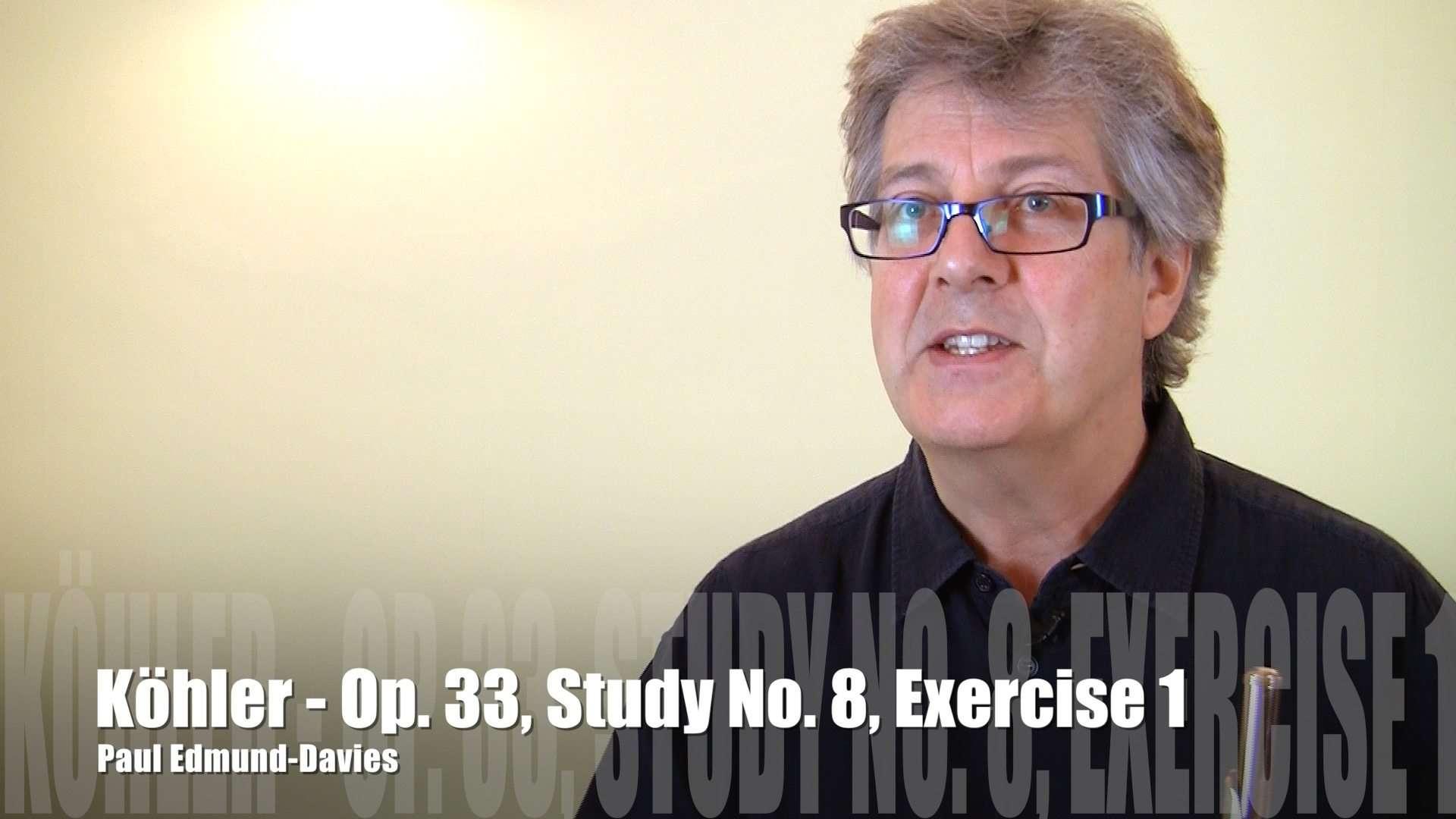 Köhler Study No 8 - Exercise 1