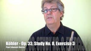 Köhler Study No 8 - Exercise 3